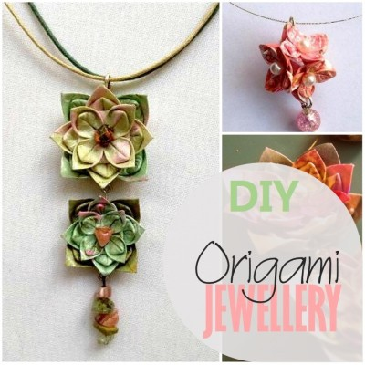 Blog thumbnail - Origami Jewellery