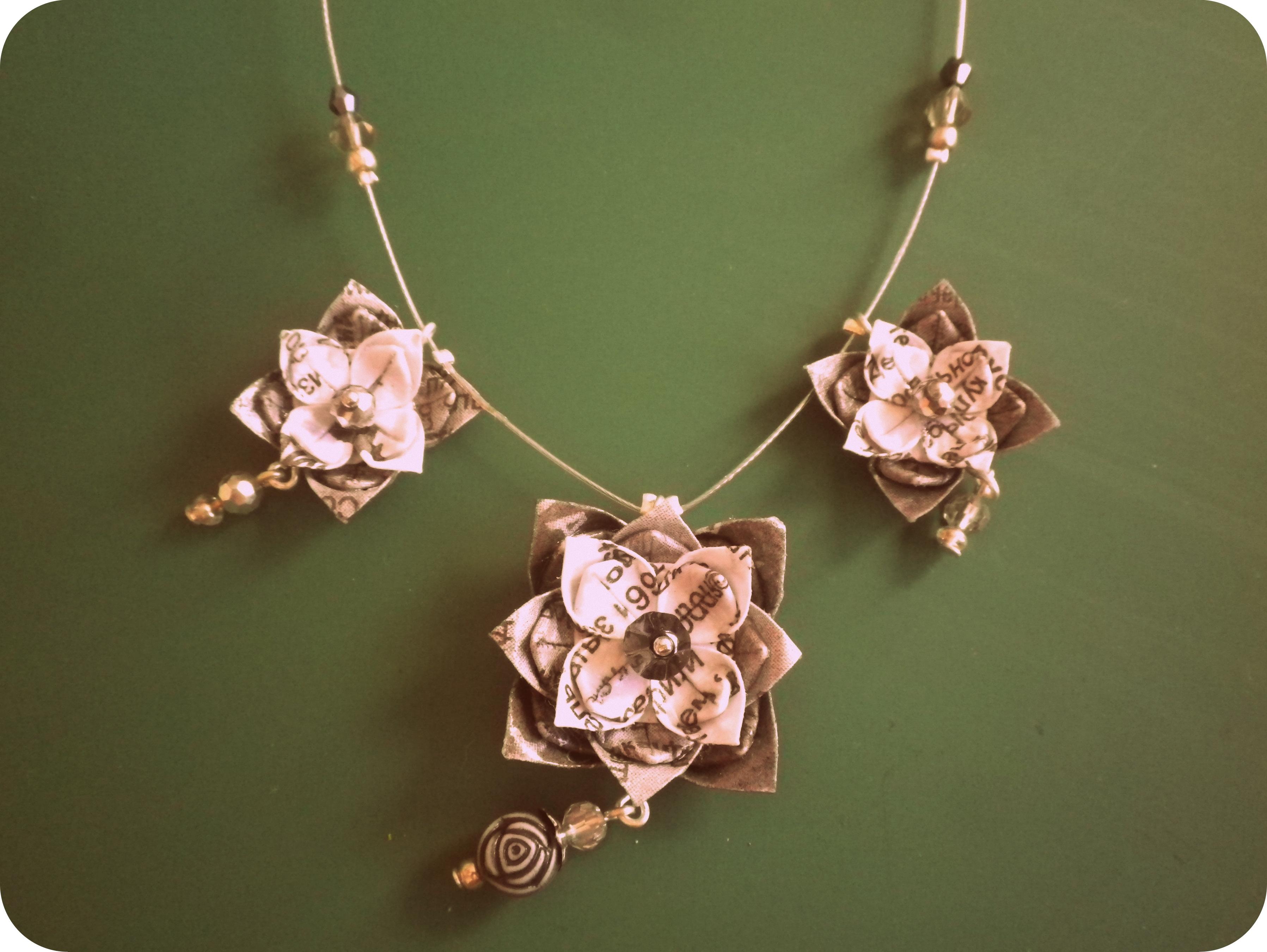 DIY – Origami Jewellery Tutorial | Olga The D-I-Wife - photo#14
