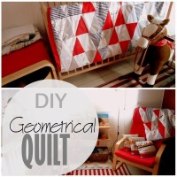 Blog thumbnail - DIY Geometrical Quilt