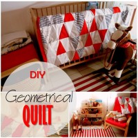 Blog thumbnail - Geometrical quilt