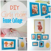 Blog thumbnail - picture frame girly room