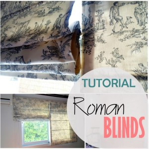 Blog thumbnail - Tutorial Roman Blinds