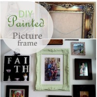 Blog thumbnails - painted picture frame