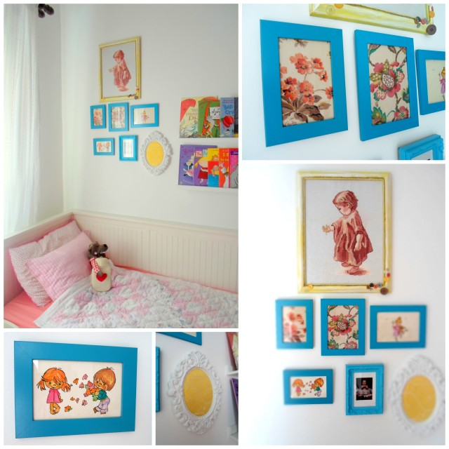 Girl room frames