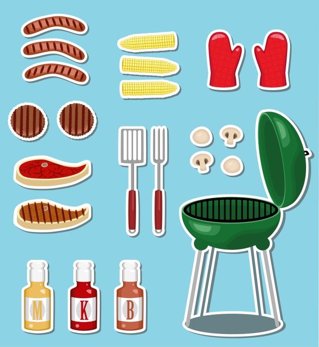 BBQ set