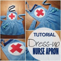 Blog thumbnail - Dress up nurse apron