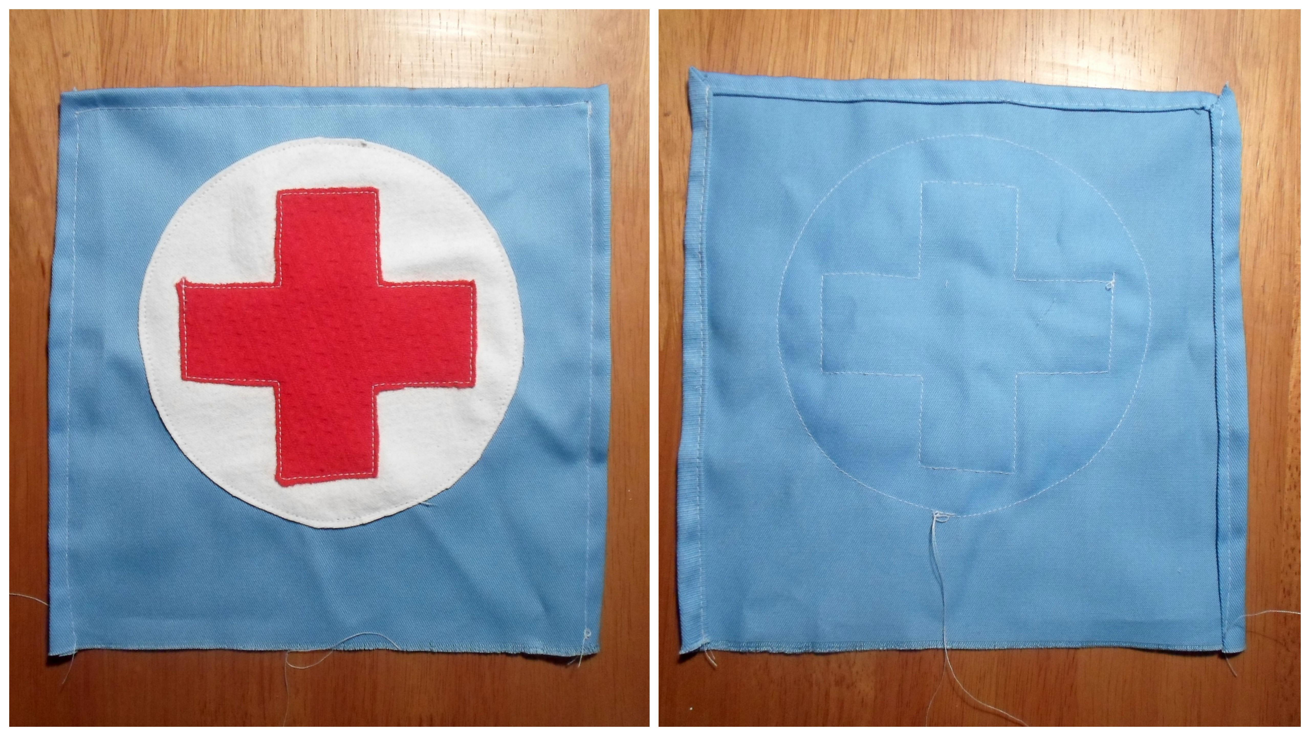 White girly apron - Nurse Apron1