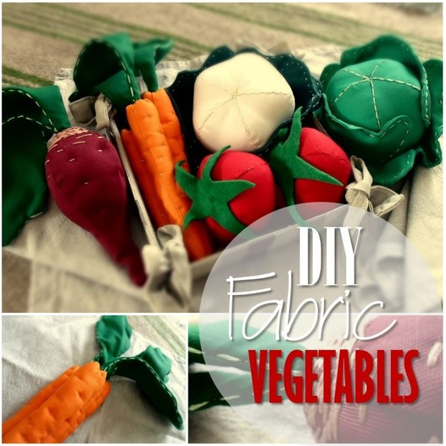 Blog thumbnail - DIY Fabric Vegetables