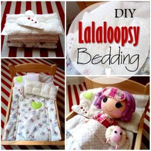Blog thumbnail - DIY Lalaloopsy Bedding