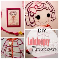 Blog thumbnail - DIY Lalaloopsy embroidery