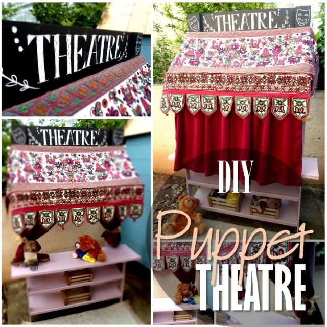 Blog thumbnail - DIY Puppet Theatre