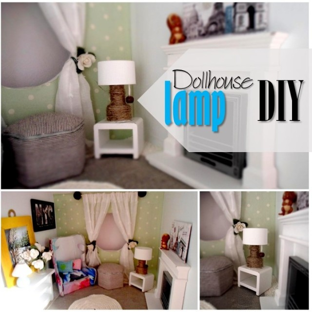 Blog thumbnail - DIY Dollhouse lamp2