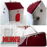 Blog thumbnail - DIY Fabric Dollhouse