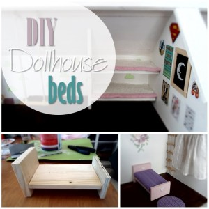 Blog thumbnail - DIY Dollhouse beds