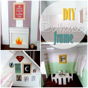 Blog thumbnail - DIY Dollhouse frames