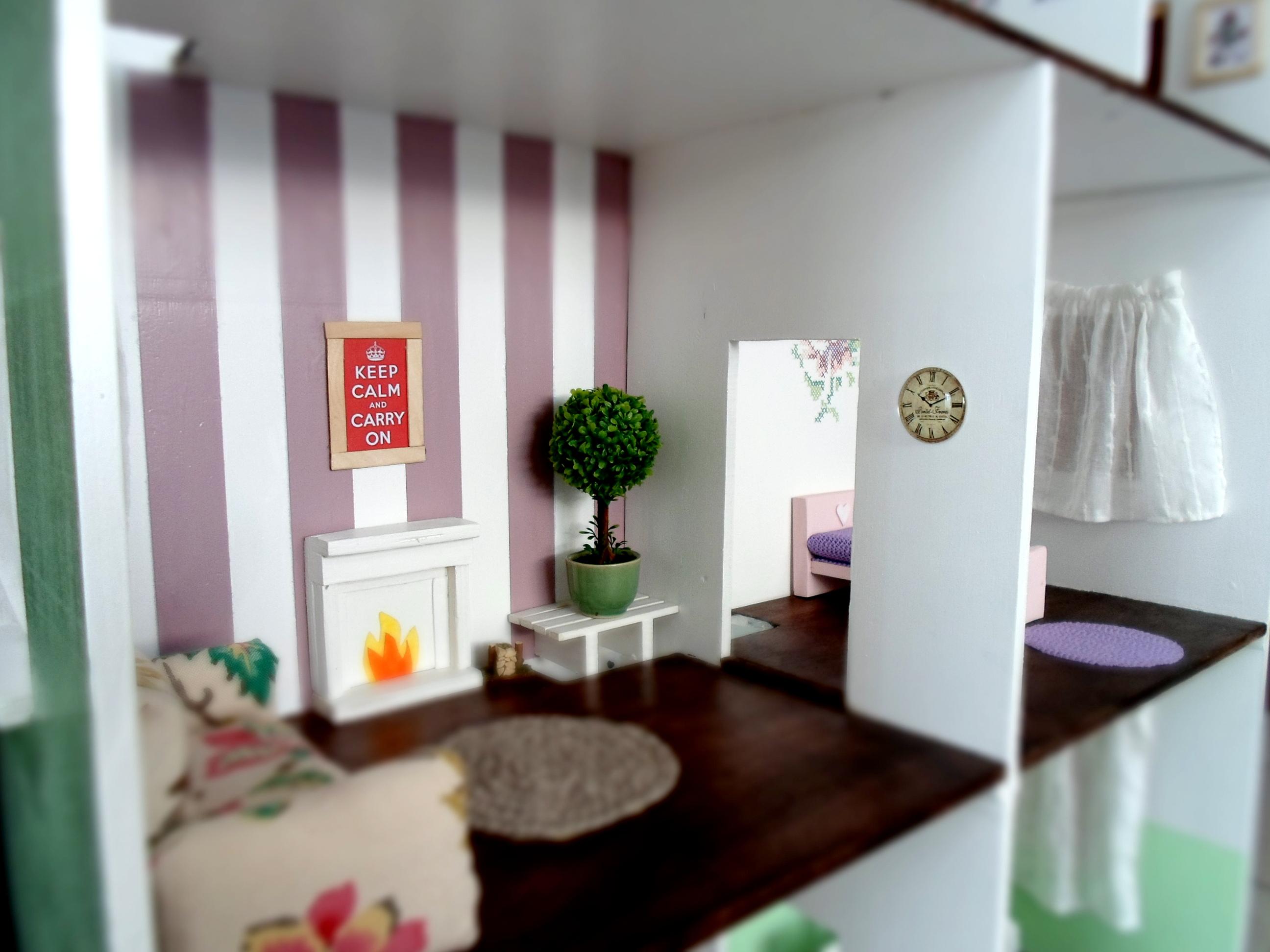 Diy doll house decor