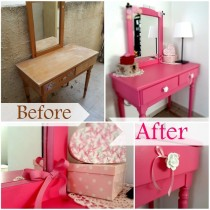 Blog thumbnail - DIY Pink desk