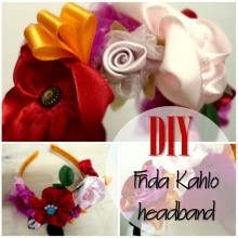 Blog thumbnail - DIY Frida Kahlo Headband