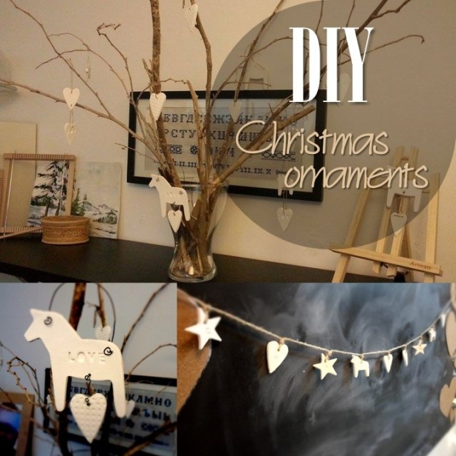 Blog thumbnail - DIY Clay Christmas Ornaments