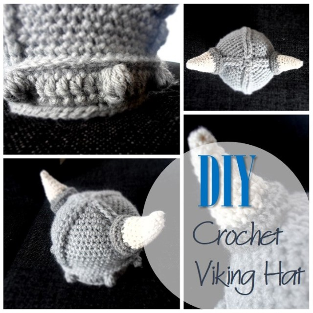 Blog thumbnail - DIY Crochet Viking Hat