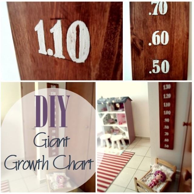 Blog thumbnail - DIY Giant Growth Chart