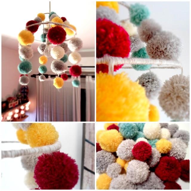 Pompom chandelier1