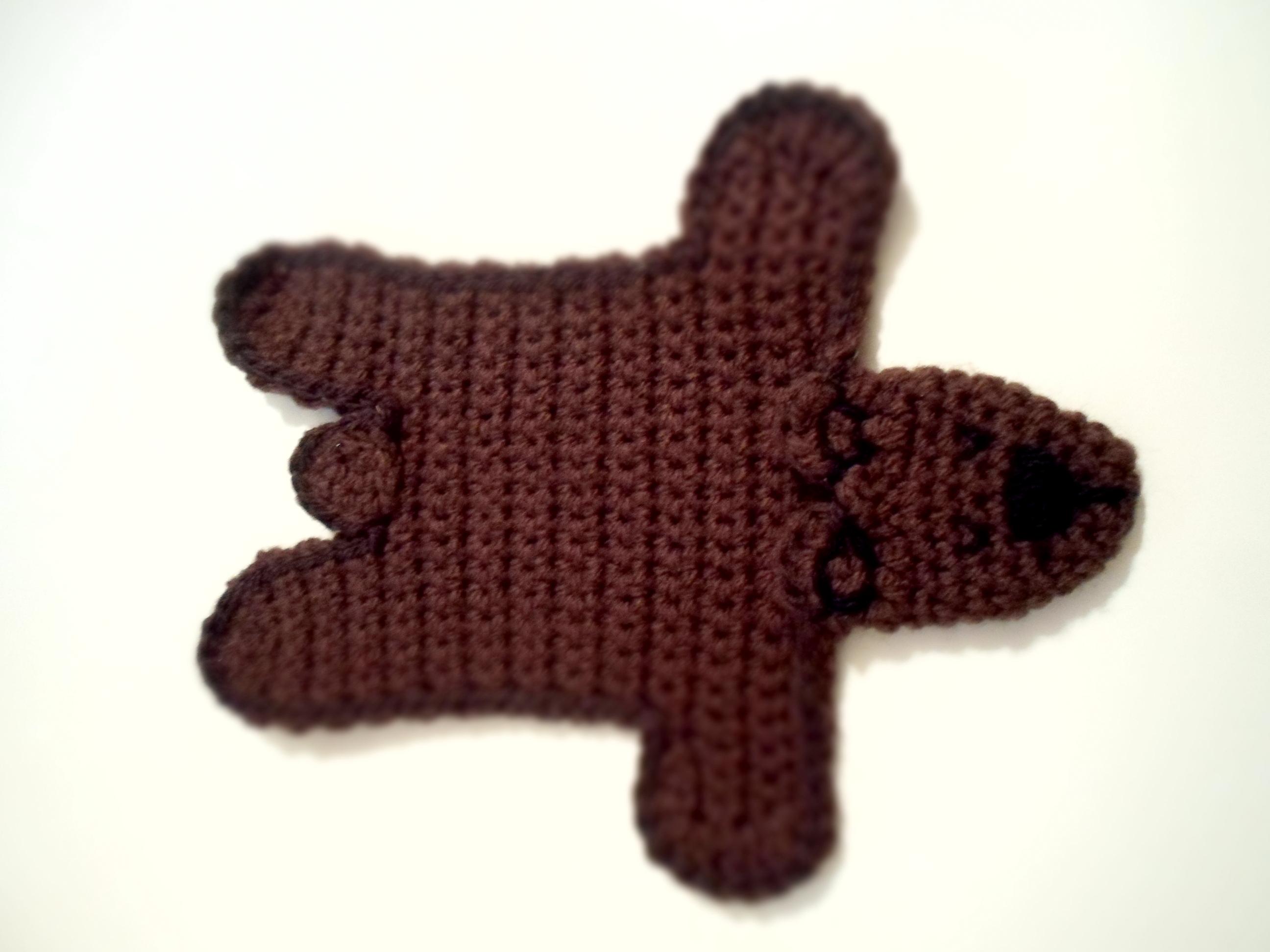 Star Wars Crochet Dolls Free Pattern : DIY Crochet Bear Rug Olga The D-I-Wife