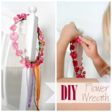 Blog thumbnail - DIY Flower wreath