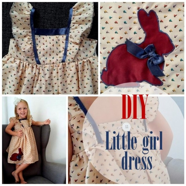 DIY - Little girl dress